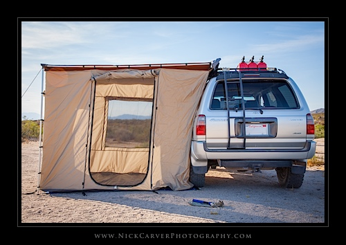 ARB 2000 Awning and ARB Enclosed Room
