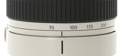 Canon zoom ring