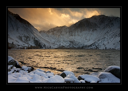 Convict Lake in Winter