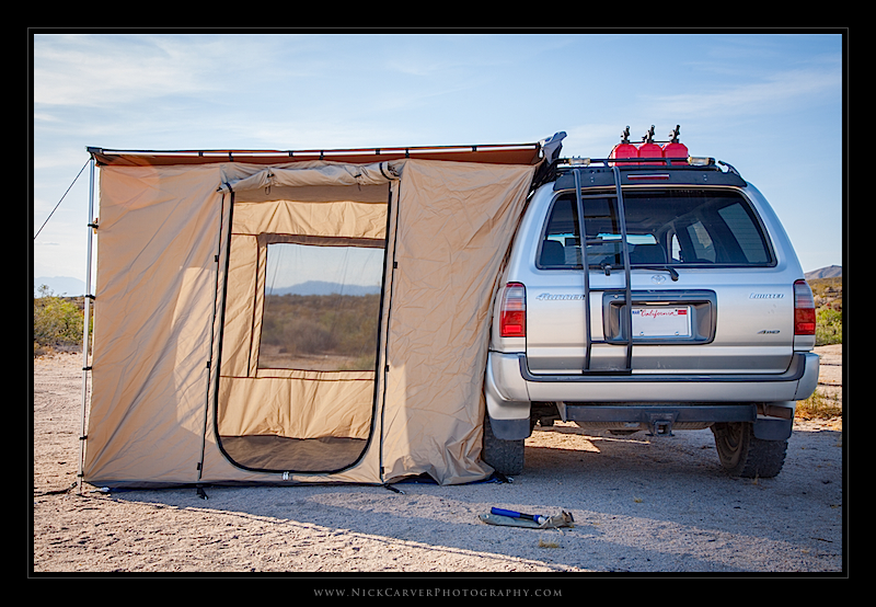 ARB 2000 Awning and ARB Enclosed Room & Camping Essentials: ARB Awning Enclosed Roomu2013 Nick Carver ...