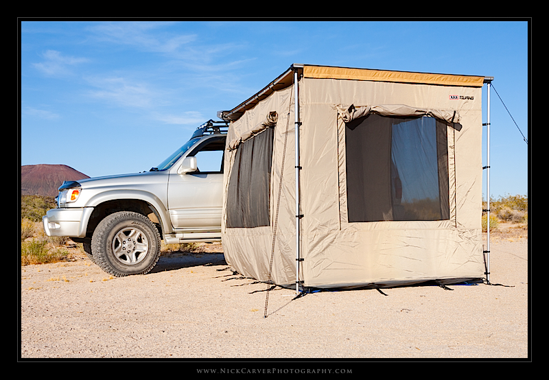 Camping Essentials Arb Awning Enclosed Room Nick Carver