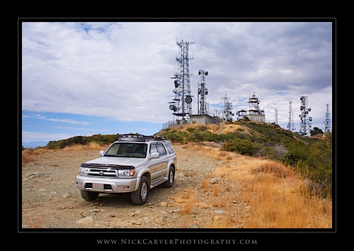 Radio Towers atop Saddleback Mountain