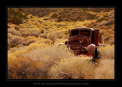 Old Rusted Truck in Death Valley National Park, CA