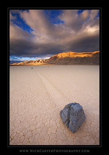 The Racetrack in Death Valley National Park, CA