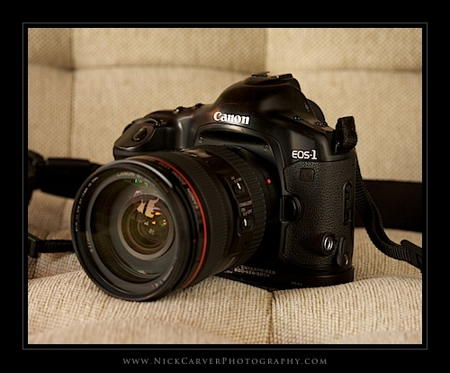 Canon EOS 1V 35mm film SLR camera