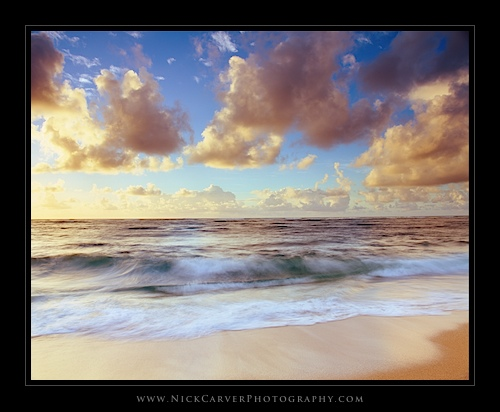 Kauai Beaches at sunrise