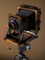 Shen-Hao HZX 45-IIa 4x5 view camera