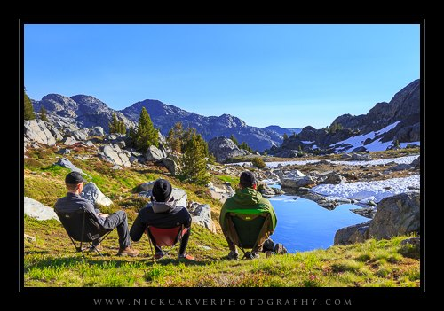 Backpacking the Ansel Adams Wilderness