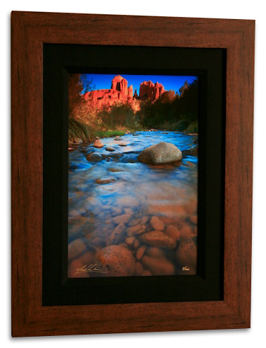 "10x15 Framed Print of ""River Rocks"" by Nick Carver"