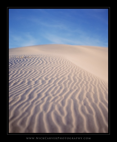 Landscape Photography from the Kelso Sand Dunes of the Mojave Desert