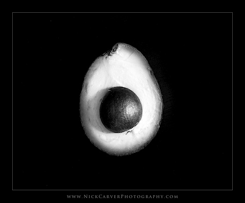 Photo a Day Challenge: Day 9 - Avocado on Ilford Delta 100 Film