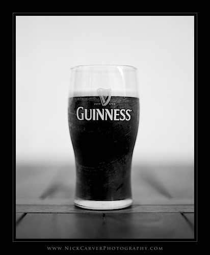 Photo a Day Challenge: Day 13 - Guinness on Ilford Delta 100 film