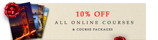 10% Off Online Photography Courses