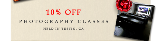 Photography Classes in Orange County, CA