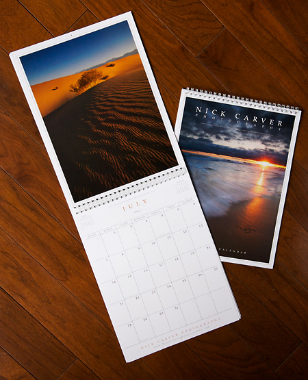 Nick Carver Nature Photography Calendar 2013