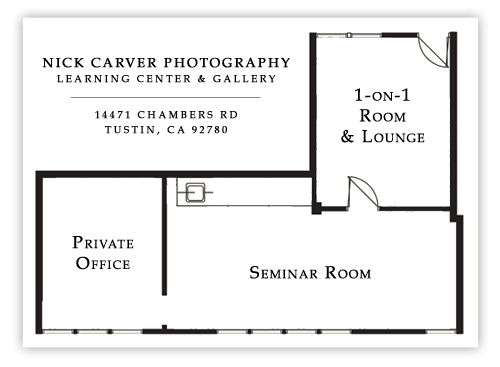 Nick Carver Photography Learning Center & Gallery