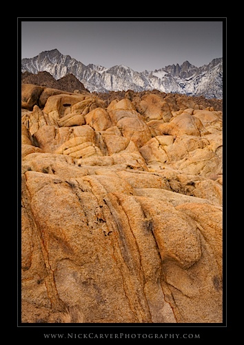 Alabama Hills Recreation Area - Near Lone Pine, CA