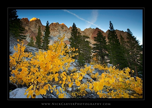 Piute Crags on the Piute Pass Tral