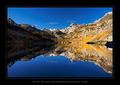 Lake Sabrina in Autumn
