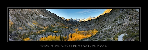Overlooking the Sabrina Basin in Fall